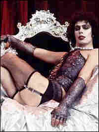 Tim Curry in 'The Rocky Horror Picture Show.'