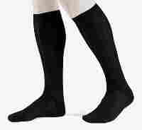 Socks available by subscription at blacksocks.com include these mercerized cotton knee socks.