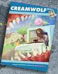 Cream Wolf, an Adult Swim Web game