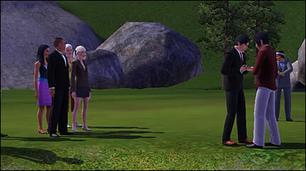 Gay marriage the sims