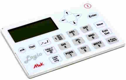 Logio Secure Password Organizer. Courtesy Atek, Inc.