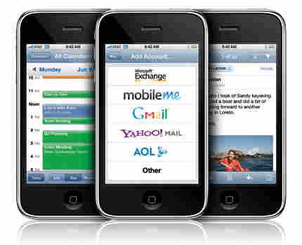 Three iPhones. Photo: Courtesy of Apple.