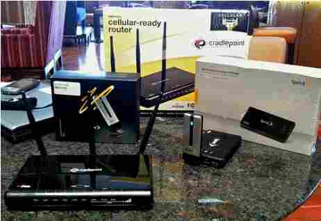 4G wireless broadband products from Sprint.
