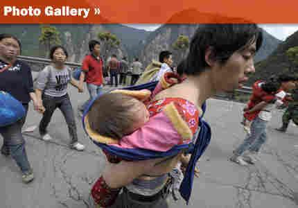 China Earthquake Children