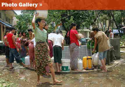 Myanmar Cyclone Nargis