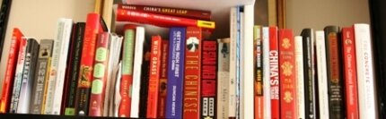 Books About China Fill Our Office Shelf There Are DVDs Too Art Silverman NPR Hide Caption