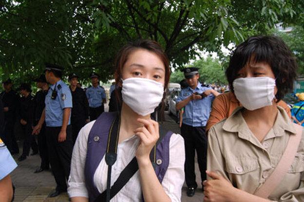 Chengdu environmental protest