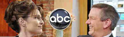 Gov. Sarah Palin and Charles Gibson of ABC News