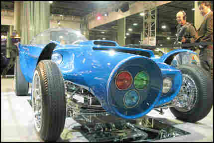 Blue Fur Vehicle
