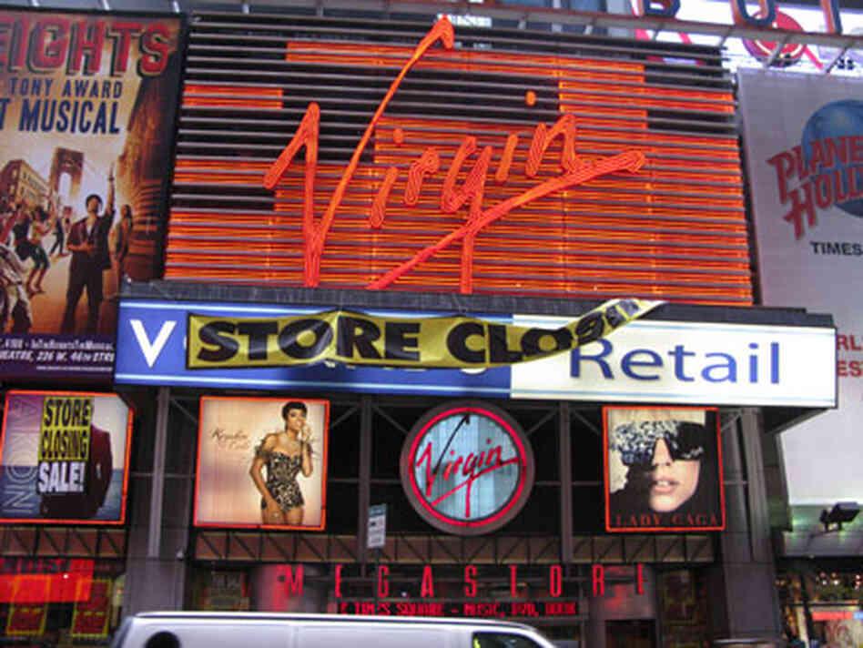 Last Virgin Megastore in Manhattan to Close - ArtsBeat