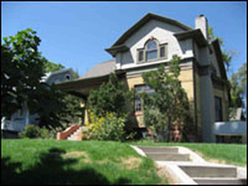 The Nielsens' home in Salt Lake City