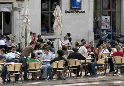 A cafe in France