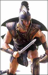 Brad Pitt as Achilles in the 2004 film 'Troy'