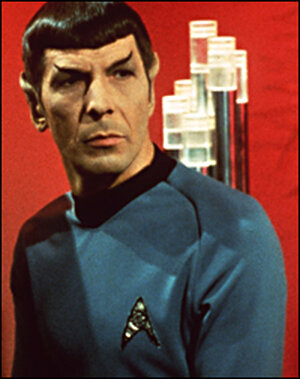 Leonard Nimoy as Spock in TV's 'Star Trek'