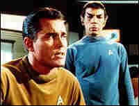 Leonard Nimoy in a 'Star Trek' movie