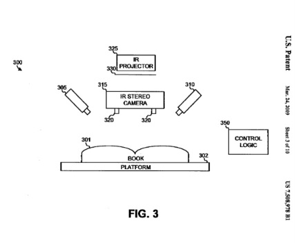 Patent Office Image of Google's Infrared Camera Technology