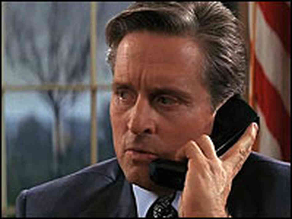 Michael Douglas in 'The American President
