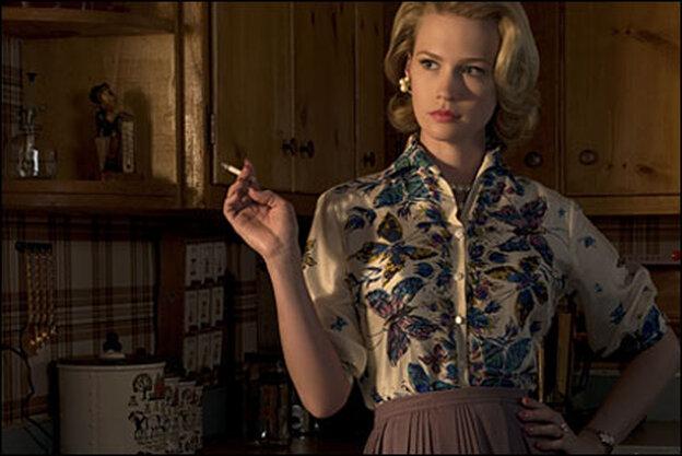 January Jones in 'Mad Men'