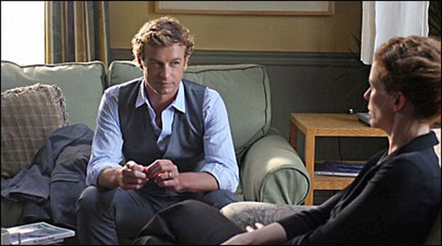 Simon Baker in CBS's 'The Mentalist'