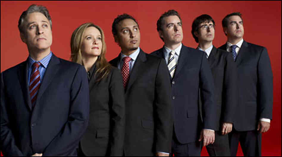 The cast of 'The Daily Show'