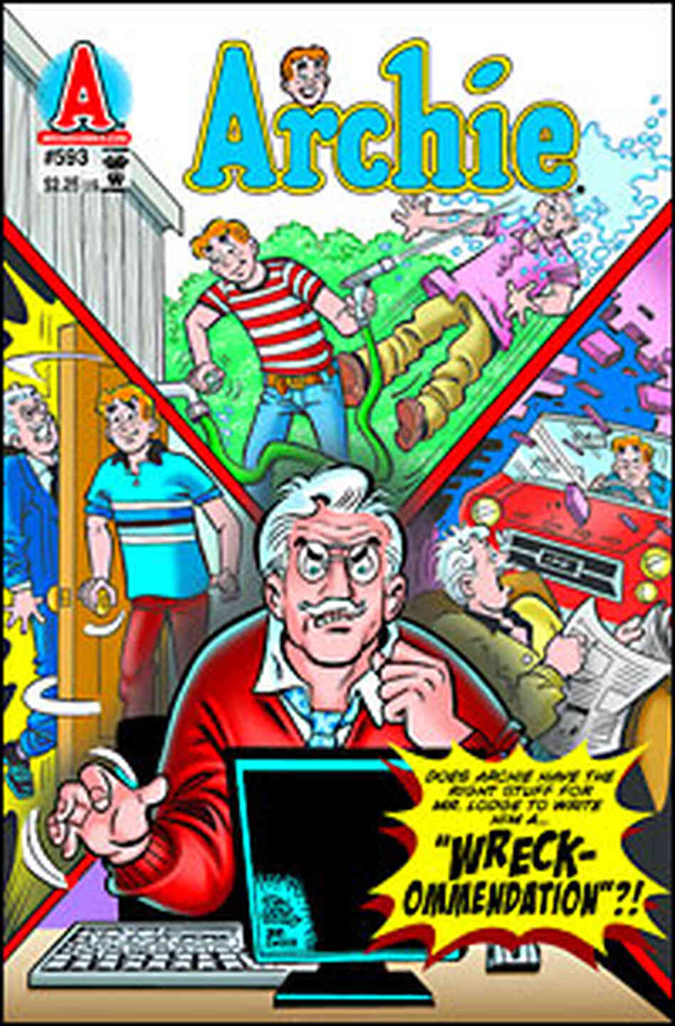 The cover of an Archie comic book