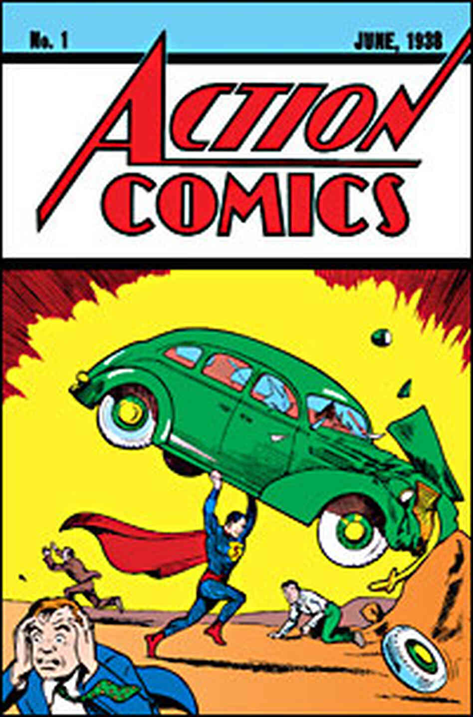 Action Comics cover