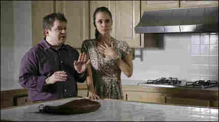 Patton Oswalt and Eliza Dushku in 'Dollhouse'