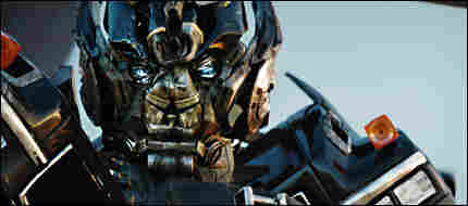 A large metal creature from Transformers: Revenge Of The Fallen