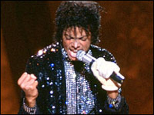 """Jackson's performs """"Billie Jean"""" on a Motown TV special in 1983"""