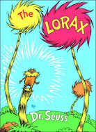 The cover of Dr. Seuss's 'The Lorax'