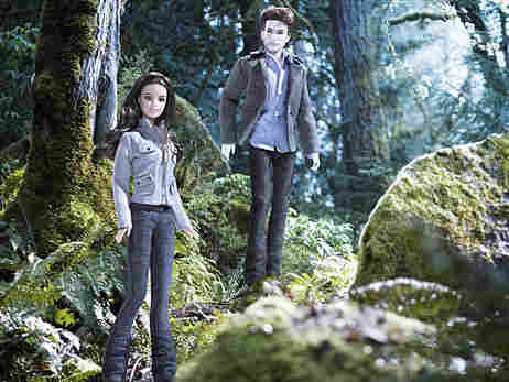The Mattel Barbie dolls designed after the characters of 'Twilight.'