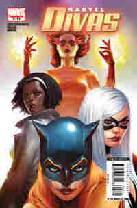 The cover of Marvel's 'Divas.'