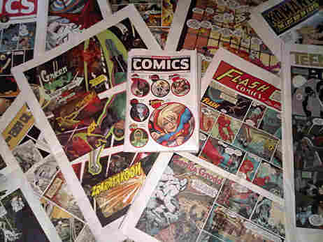 Issues form the 'Wednesday Comics' series.