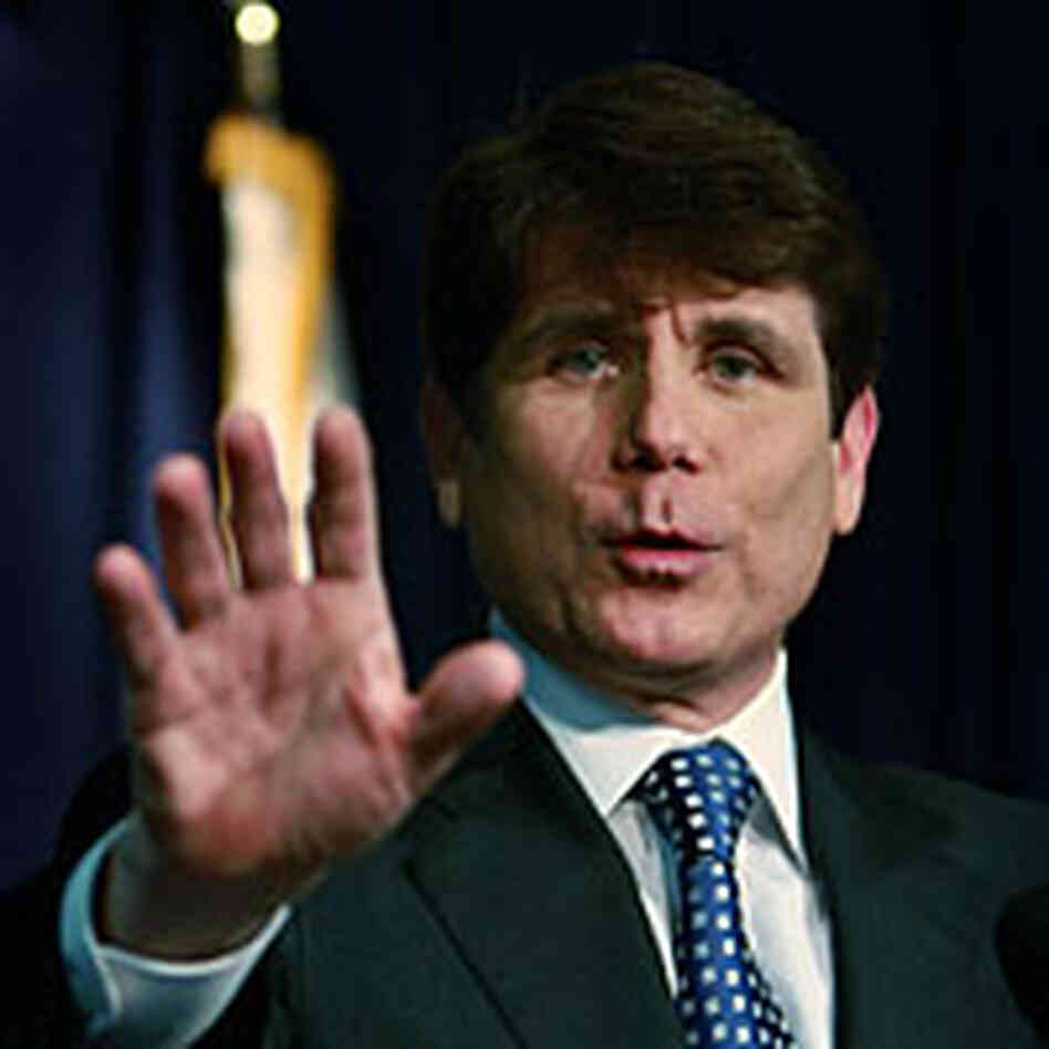 Rod Blagojevich at a news conference in January 2009.
