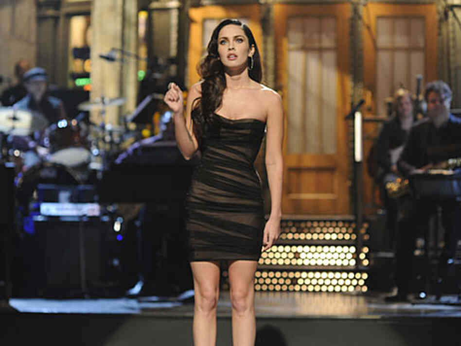 Megan Fox hosts Saturday Night Live.