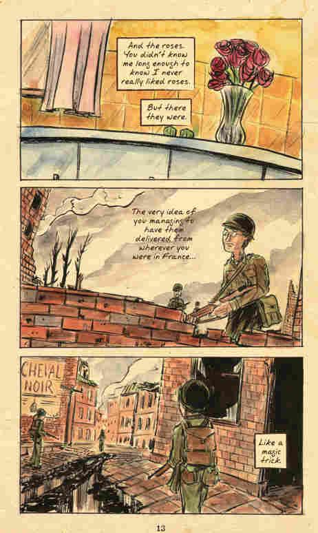 Several panels from Matt Kindt's '3 Story.'
