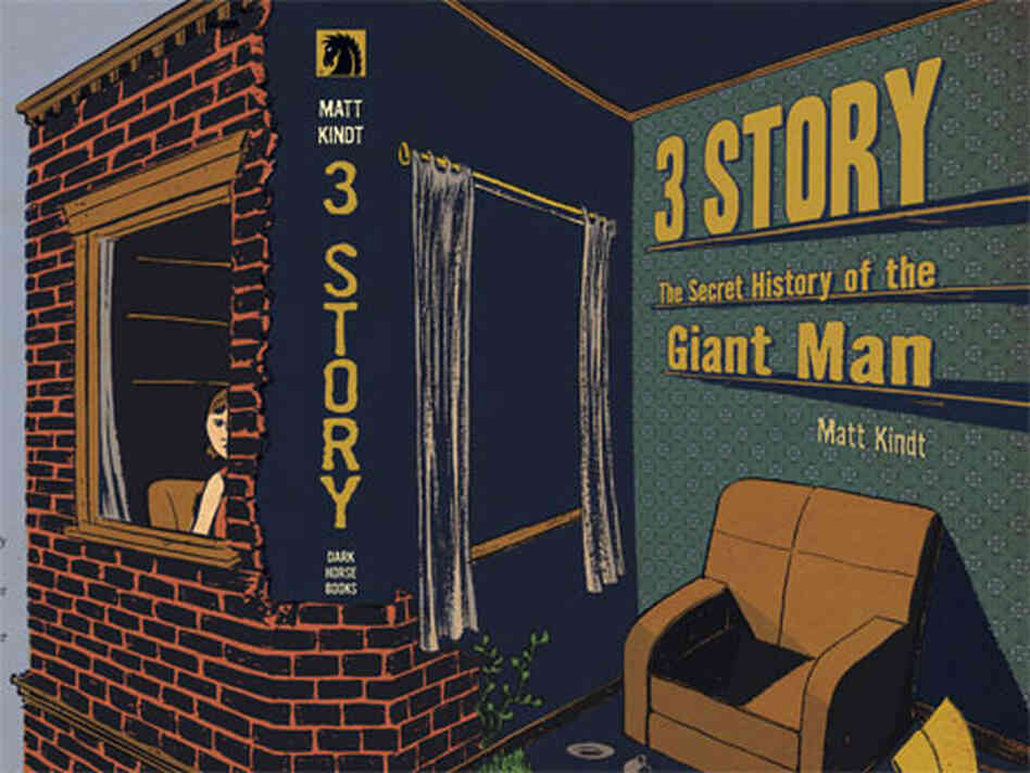 The cover of Matt Kindt's '3 Story.'