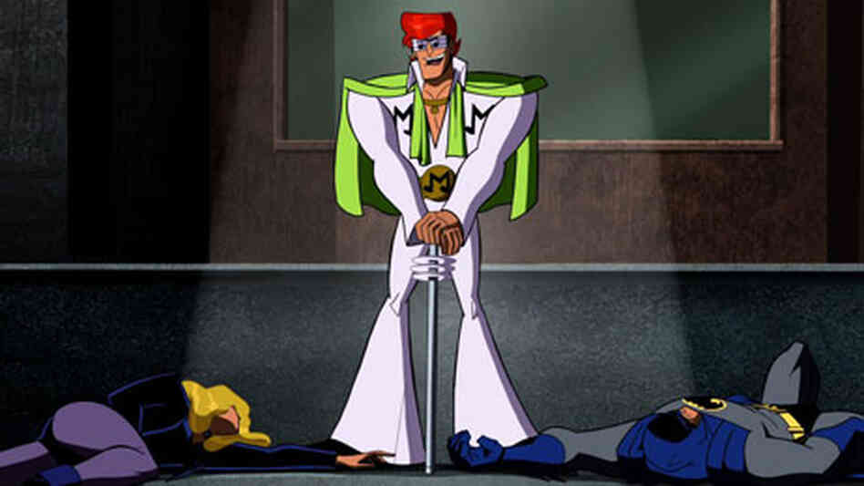 The Music Meister, an Elvis-like character voiced by Neil Patrick Harris, from Cartoon Network's 'Ba