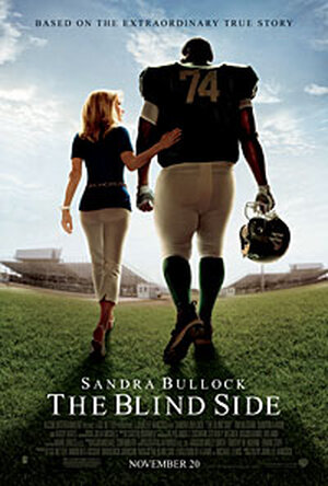 the poster for 'The Blind Side'.