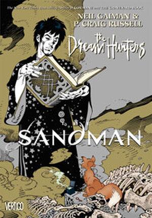 The cover of Neil Gaiman's 'Sandman: The Dream Hunters'.