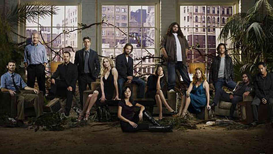 The cast of 'Lost'.