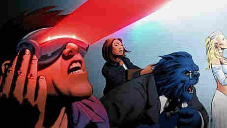 The Astonishing X-Men motion comic.