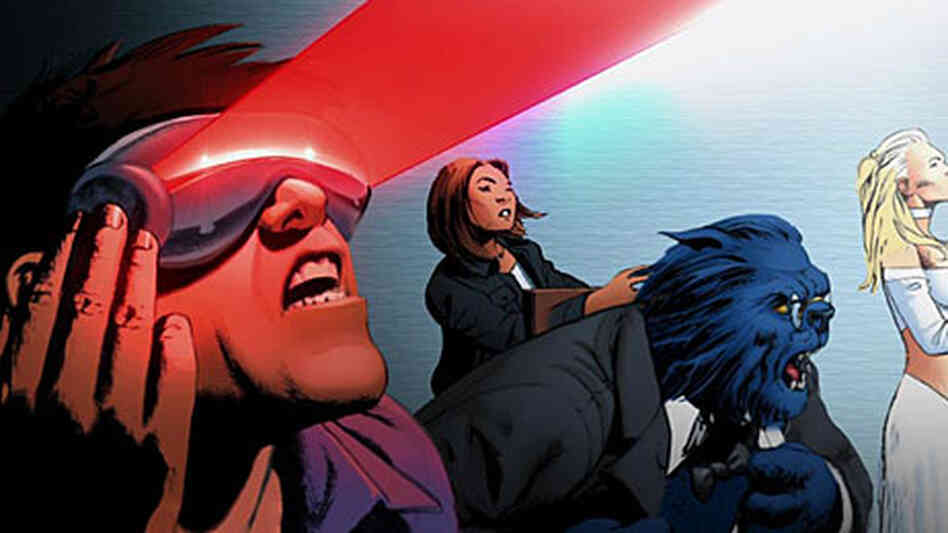 The Astonishing X-Men motion comic.