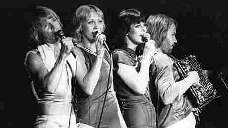 The members of ABBA, seen in 1979.