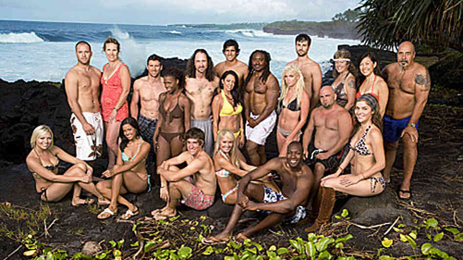 The cast of Survivor:Samoa.