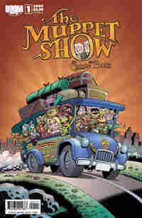 The cover of The Muppet Show comic.