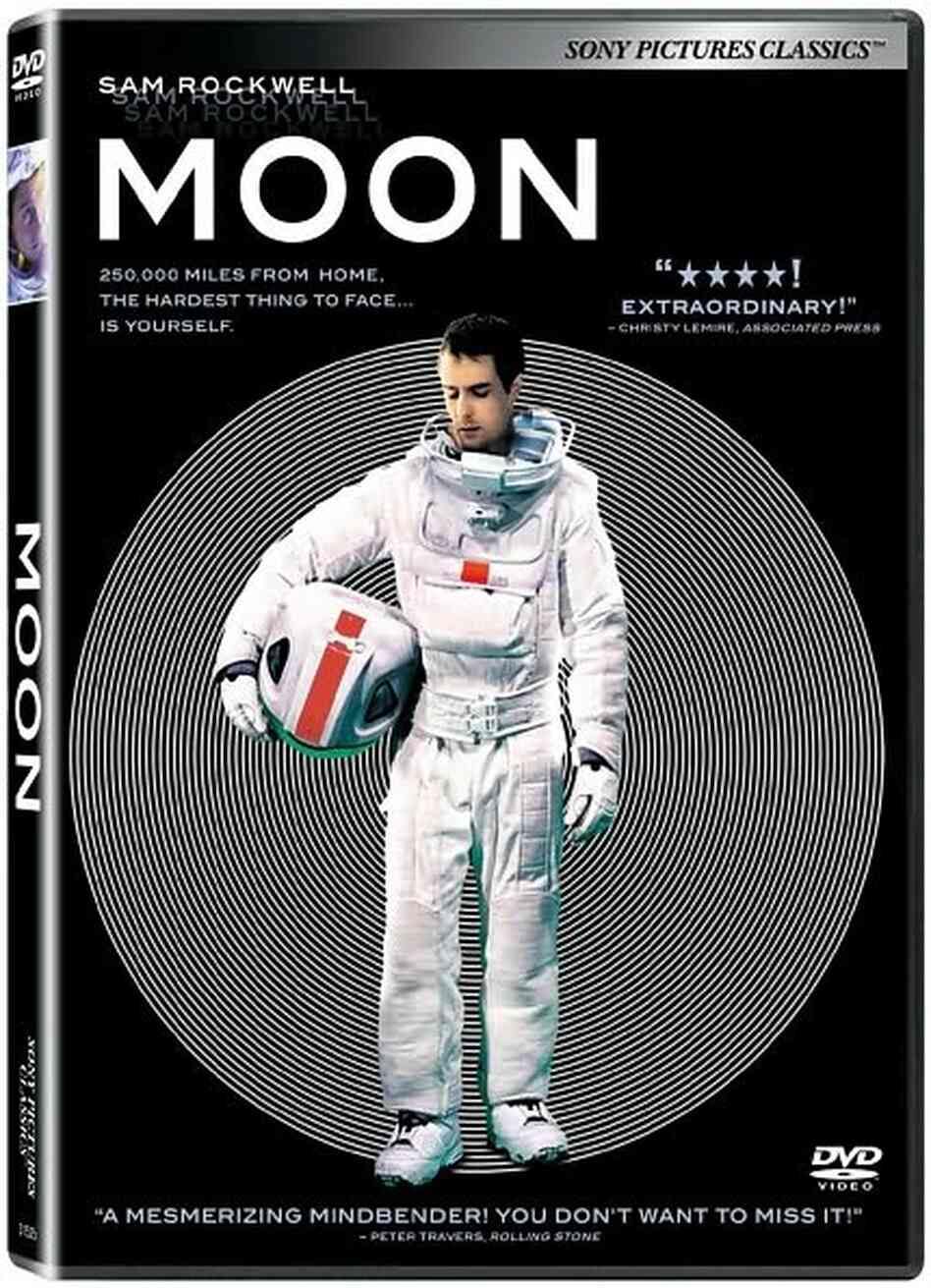 The DVD of Moon.