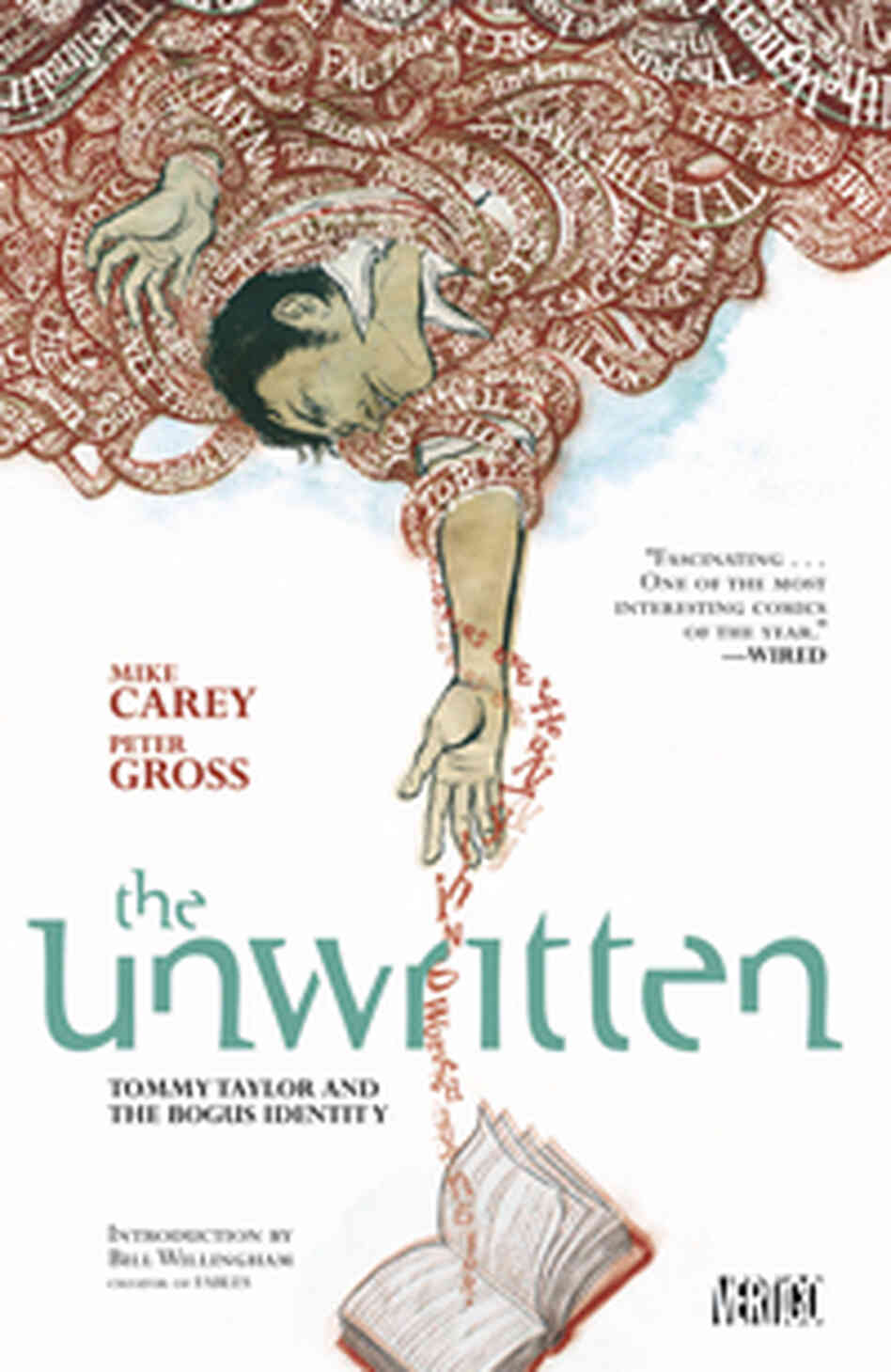 The cover of Unwritten.