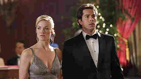 Yvonne Strahovski and Zachary Levi of NBC's 'Chuck'.