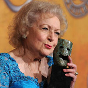 Betty White at the Screen Actors Guild Awards on January 23.